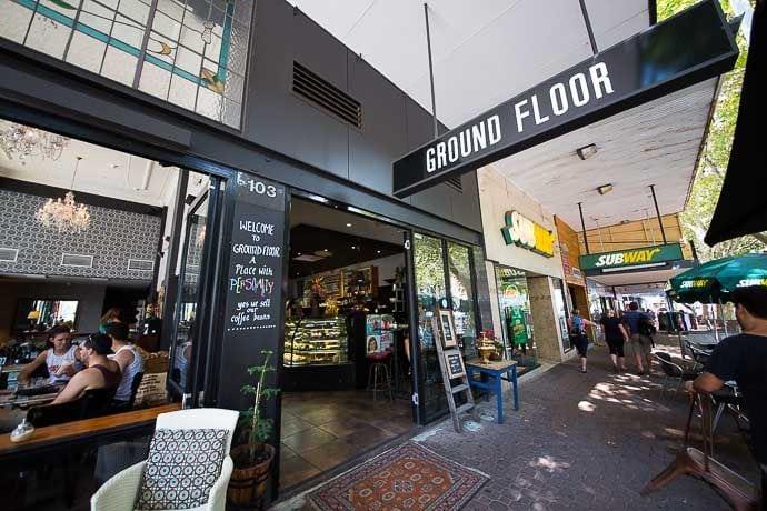 ground floor cafe, star apartment