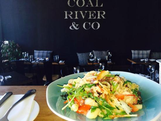 pasta served at coal river and co. at star apartment