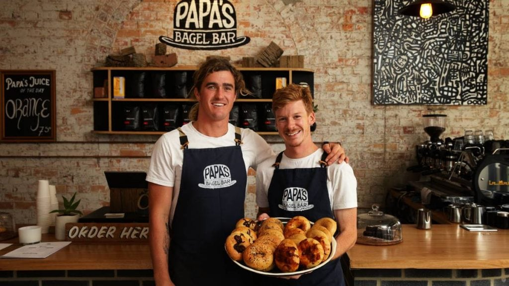 papa's bagel bar, star apartment
